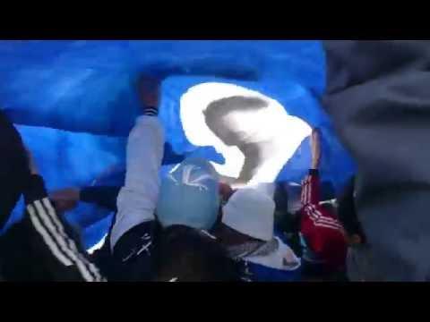 """""""Recibimiento a Guillermo Brown vs DeportiBo Madryn"""" Barra: La Banda Del Sandia • Club: Guillermo Brown"""