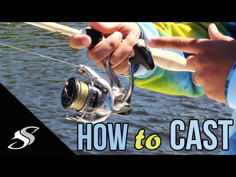 How to Cast a Spinning Reel/Rod – For Beginners
