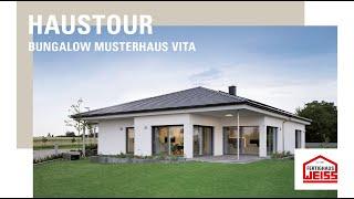 Haustour Bungalow VITA - Fertighaus WEISS
