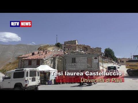 Tesi effetti sisma Castelluccio