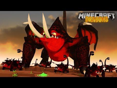 THE DEATHGRIPPER QUEEN! - Minecraft Dragons