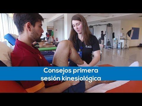 Primera sesión de Kinesiología - TIPS MEDS