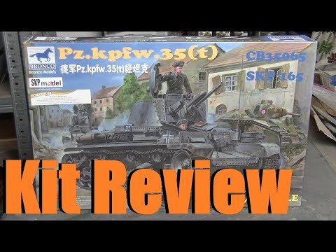 Kit Review: Bronco Panzerkampfwagen 35(t) in 1/35 scale