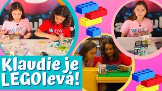 Klaudiino velké zjištění u skládání LEGO Vidiyo! /WowShow