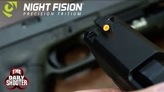 Night Fision Night Sights Review The Brightest?
