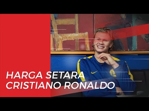 Harga Setara Cristiano Ronaldo Harus Dibayar Barcelona Jika Ingin Datangkan Haaland dari Salzburg