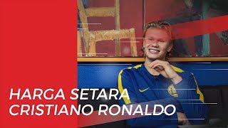 Harga Setara Cristiano Ronaldo Harus Dibayar Barcelona untuk Datangkan Erling Haaland dari Salzburg