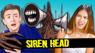 Teens React To SIREN HEAD (Scary TikToks, Memes, Video Games)