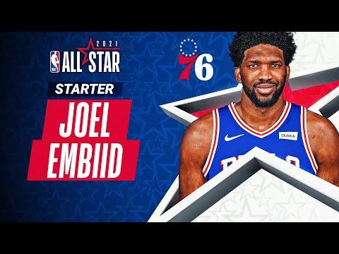 Best Plays From All-Star Starter Joel Embiid   2020-21 NBA Season