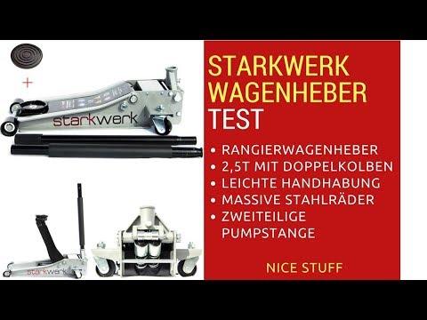 Starkwerk SW 505/2,5T Wagenheber TEST   Nice Stuff