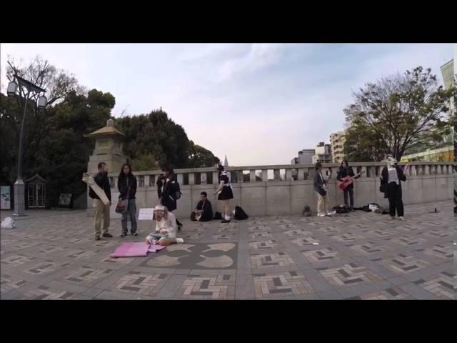 2015-04-12 Yoyogi Park - Band
