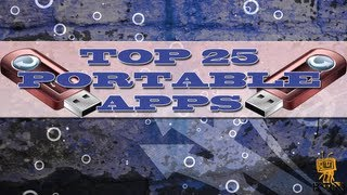 "Top 25 USB  Portable Utilities Apps ""That Can Save You One Day!"""