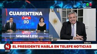 """Entrevista en """"Telefe Noticias"""" - Telefe - 17/6/2020"""