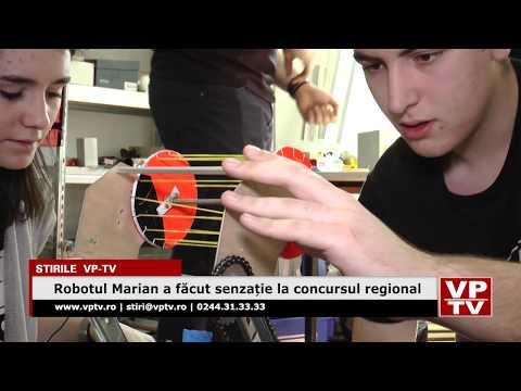 Robotul Marian a făcut senzație la concursul regional