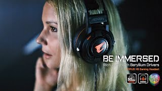 AORUS H5 Gaming Headset│Be Immersed