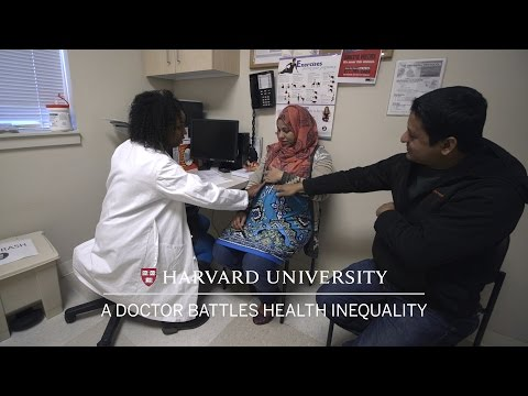 A doctor battles health inequality