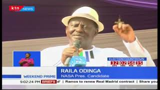 NASA's new approach: Raila woos independents