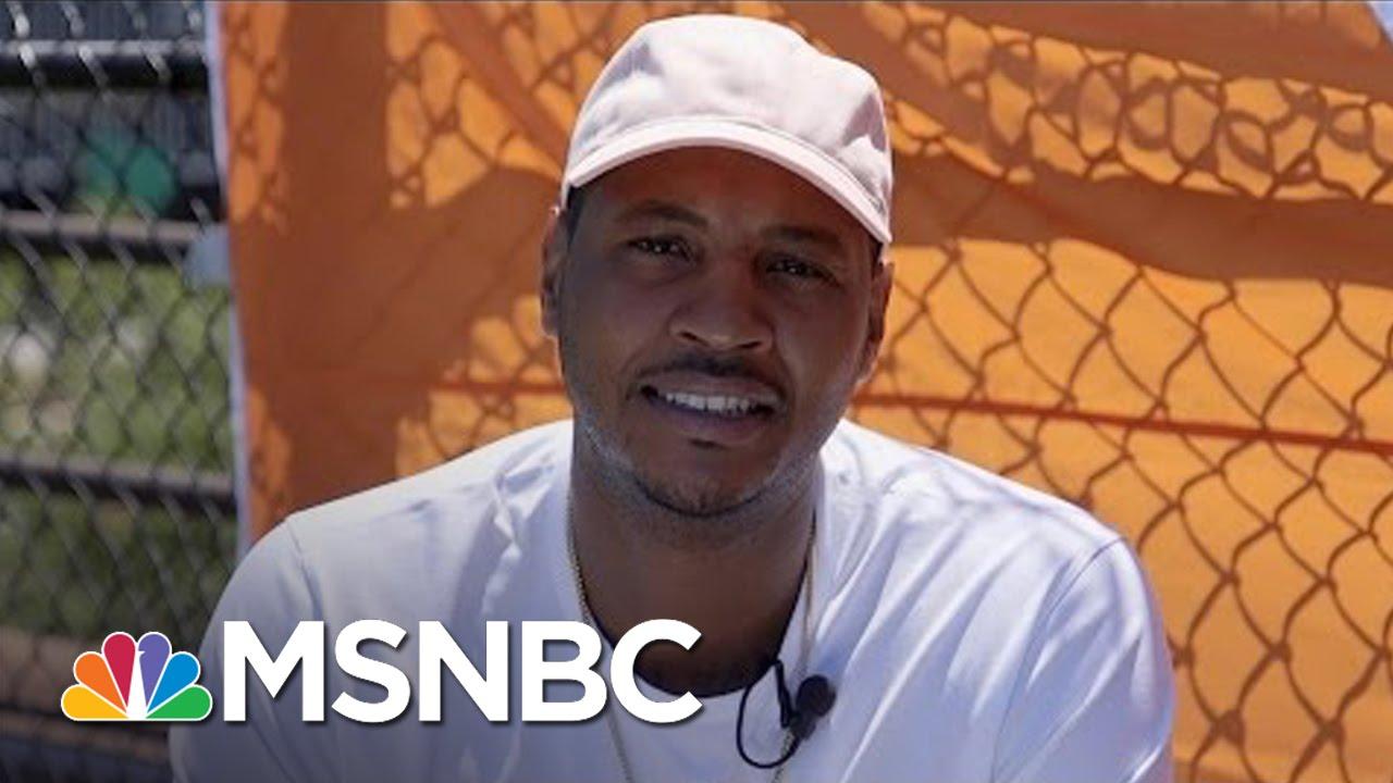 NBA Star Carmelo Anthony To Aid Puerto Rican Economic Crisis | MSNBC thumbnail