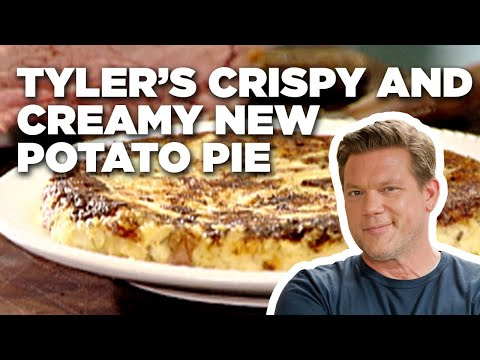 How to Make Tyler's Crispy and Creamy New Potato Pie | Food Network