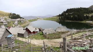 Beautiful Prokosko lake - Mountain Vranica - City Fojnica - Bosnia and Herzegovina