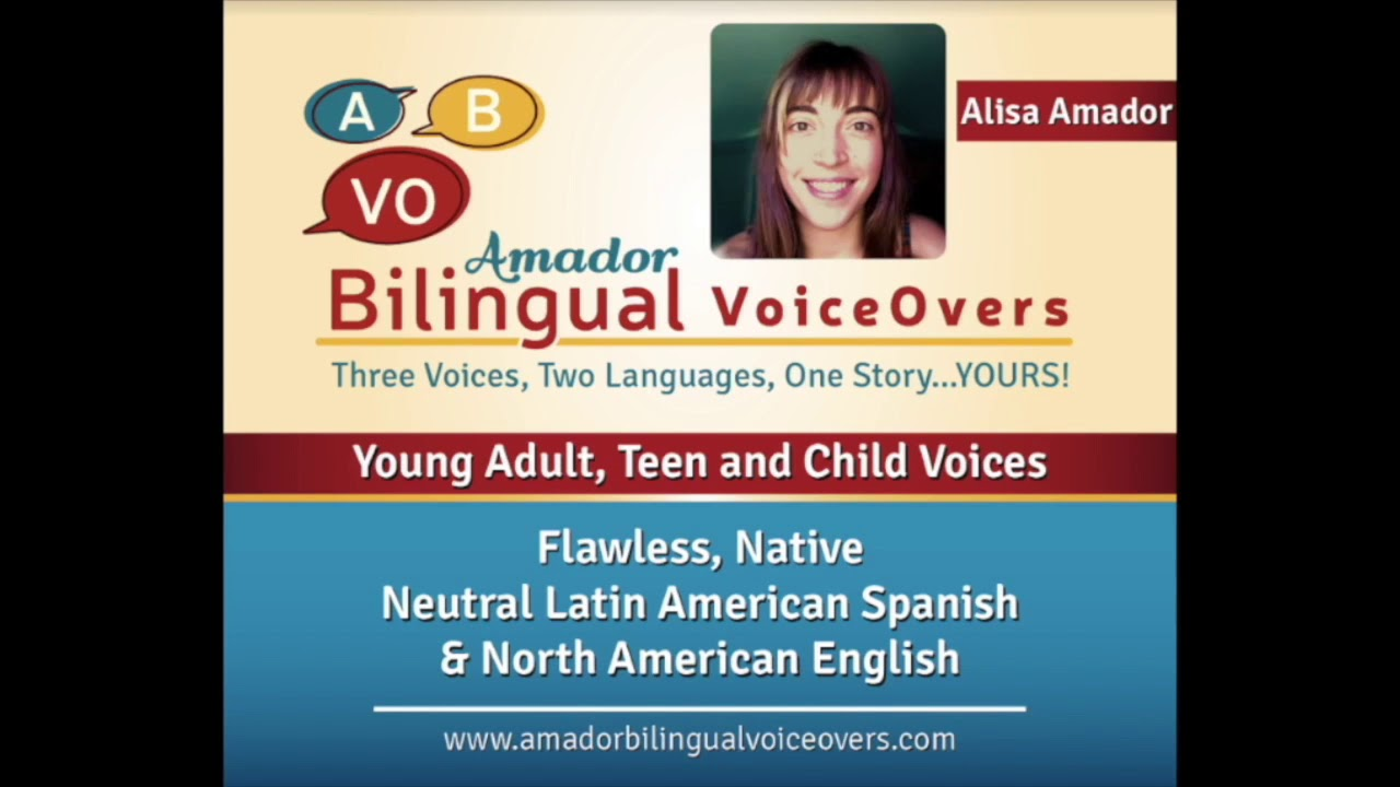 Alisa Amador ~ Spanish Commercial Demo
