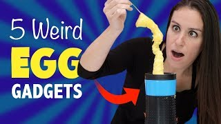 5 WEIRD EGG 🍳 GADGETS - TEST KITCHEN | Kholo.pk