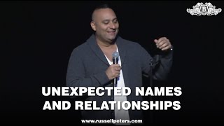 Russell Peters | Unexpected Names and Relationships