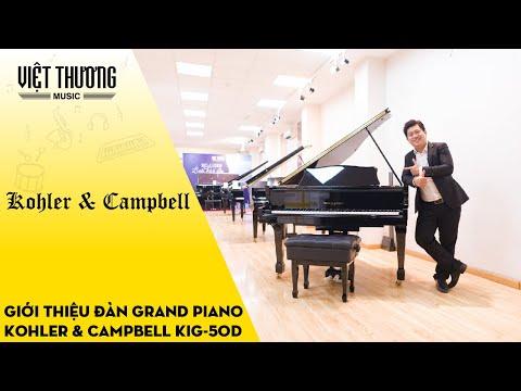 Giới thiệu chi tiết đàn piano Kohler & Campbell KIG-50D
