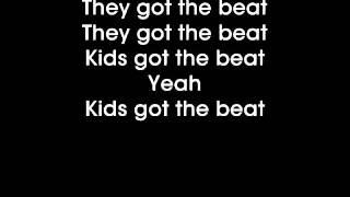 Glee - We got the beat - Lyrics on screen