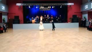 preview picture of video 'Kateřina Baďurová a Jan Onder, Benešov 9.1.2015'