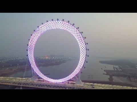 China has Built the World's Biggest Ferris Wheel