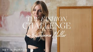 The Festive Fashion Challenge with Sienna Miller | NET-A-PORTER