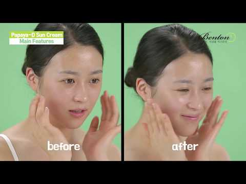 Cosmetici da macchie scure su una faccia