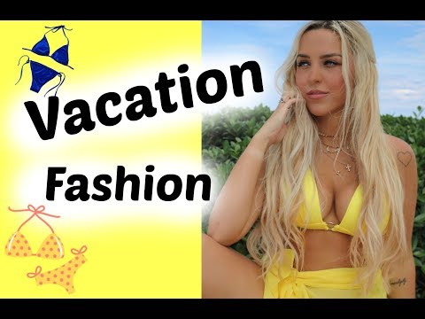 Vacation Fashion--What I Wore!