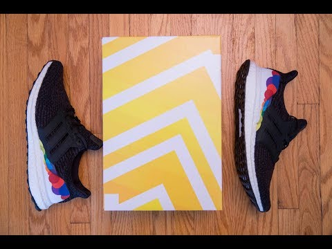 Hypebeast Uncaged Ultra Boost Alternative || Adidas Ultra Boost 3.0 Pride Review and On Feet