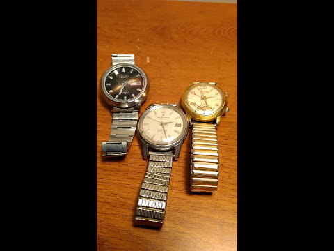 Vintage Watches Garage Sale Find Cheap New Channel will add more Awesome Scores
