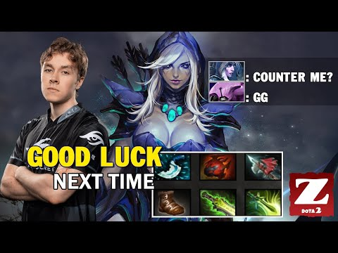 SECRET.ZAI DROW RANGER Carry Vs 5 Counter Pick Destroy DR DOTA 2