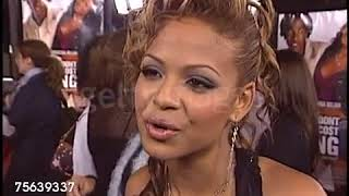 Christina Milian interview  Love Don't Cost A Thing Premiere 2003
