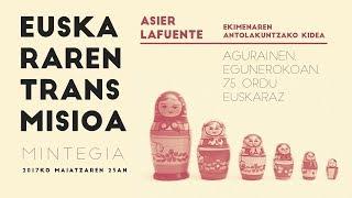 """Asier Lafuente: """"Agurainen, egunerokoan, 75 ordu euskaraz"""""""