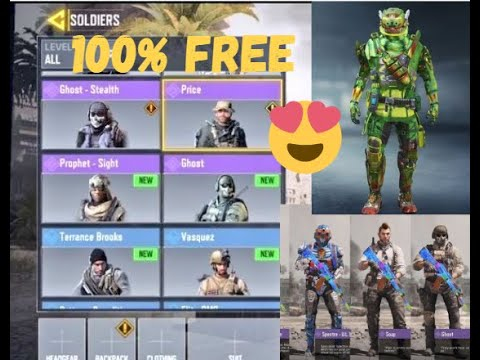 How To Get Free Skins On Call Of Duty Mobile