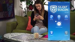 Safety App instructional video for Silent Beacon personal safety device!