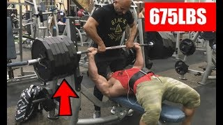 Brad Castleberry Bench Pressed 675lbs.... Again
