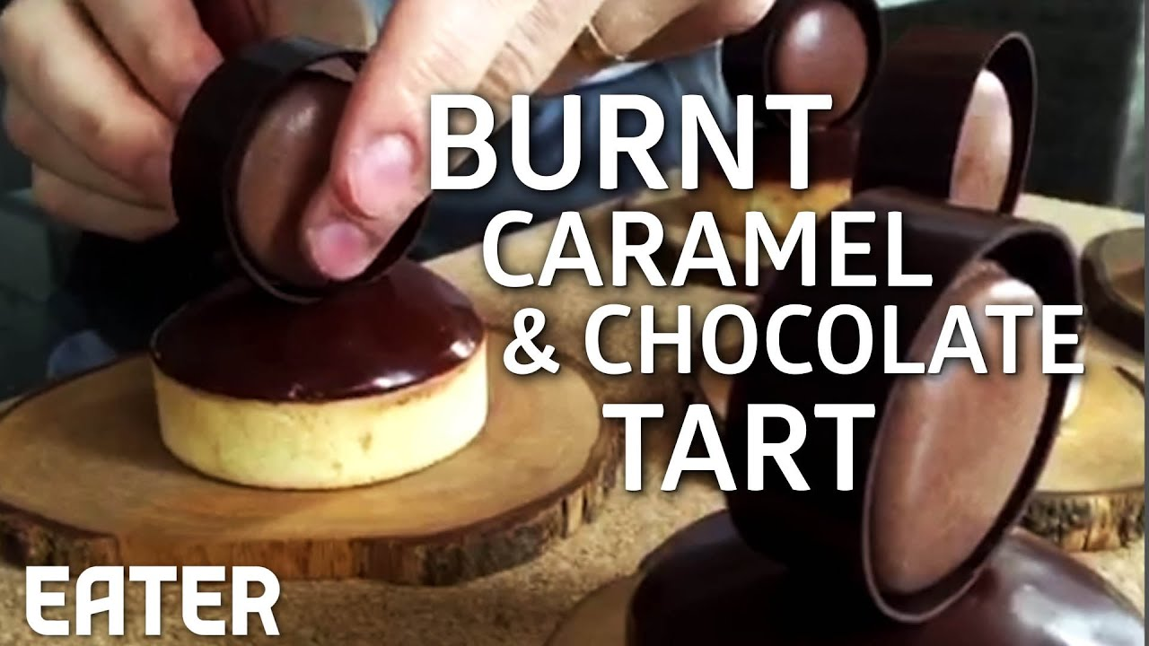 A Burnt Caramel and Chocolate Tart Too Pretty To Eat thumbnail