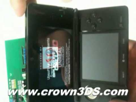 Here's The 3DS Hacked And Running A 3DS Game
