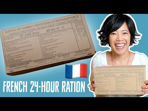 🇫🇷 French 24-Hour Ration | RCIR Menu# 13