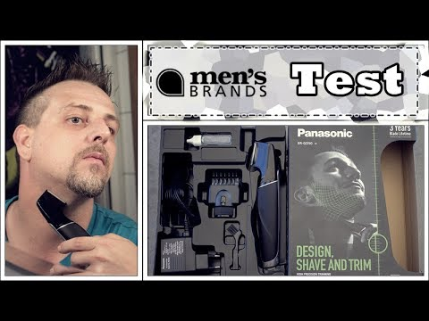 Panasonic ER-GD 50 Design-Trimmer | men´s Brands Testprojekt | Herren Rasierer