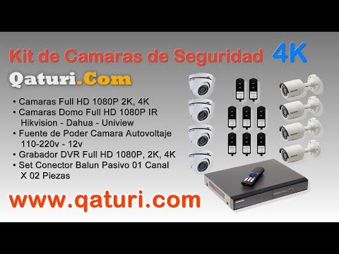 Hikvision Kit de Camaras de Seguridad Full HD 1080P Dahua 2018 Peru Venta