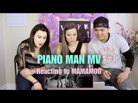 Piano Man By MAMAMOO - M/V Reaction - Q & A With Lady K