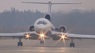 Взлёт Ту-154 RF-85655 Открытое небо