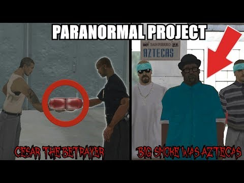 CESAR IS THE BETRAYER!? BIG SMOKE WAS AN AZTECAS!? GTA San Andreas Myths - PARANORMAL PROJECT 85